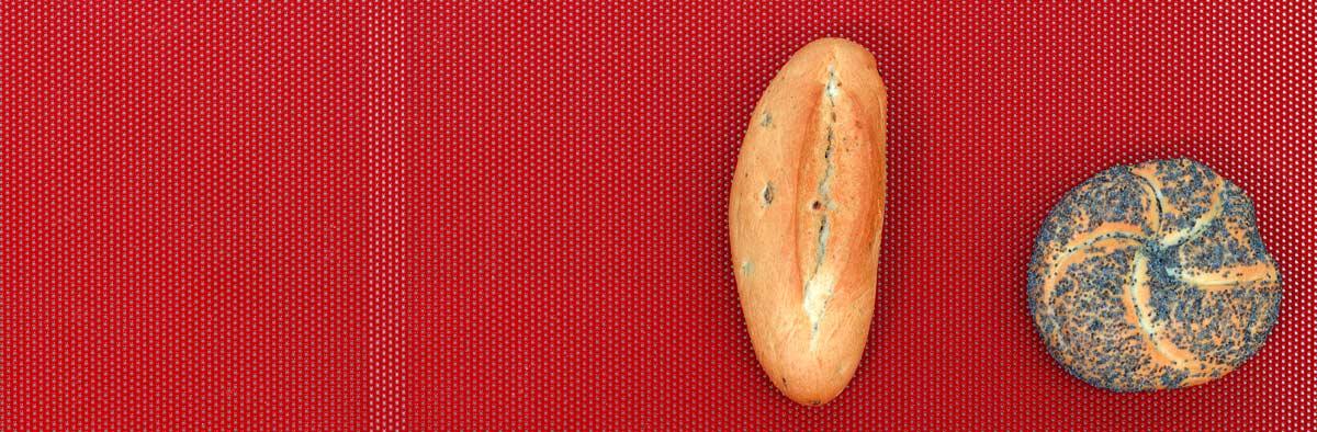 bandeja antiadherente para bollería salada
