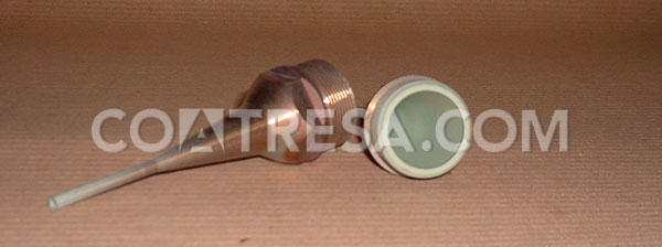 Teflon PTFE for dosing nozzle (food machinery)