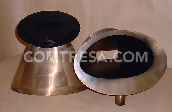 PTFE Teflon for dosing funnel (feeding machinery)