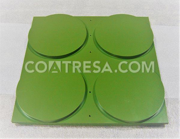 PTFE teflón para placa de termosellado (sector alimentación)
