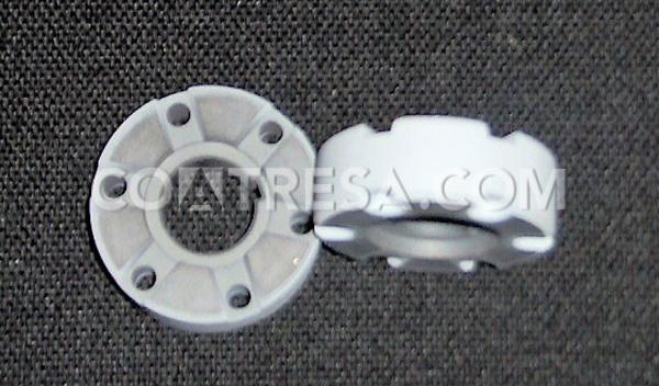 Polytetrafluoroethylene for piston of the automotive sector