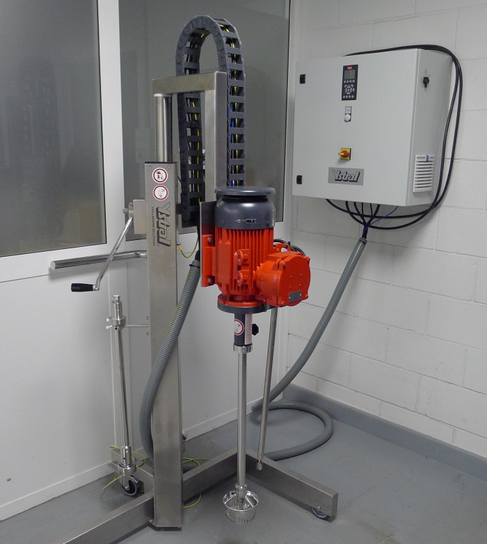 agitador para laboratorio I+D en Coatresa