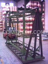 cataphoresis coating process for automotive racks