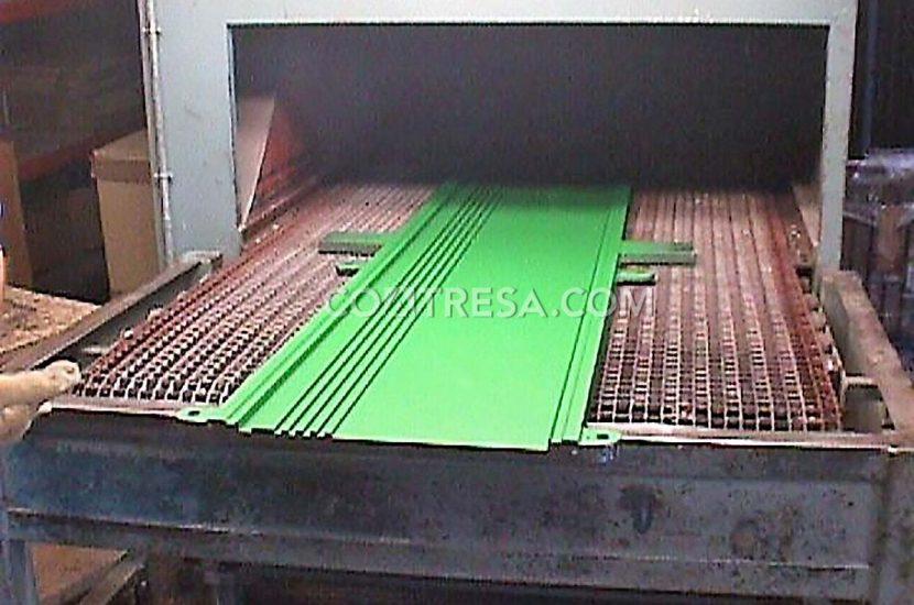 Lámina de teflón, molde termoconformado para sector automoción