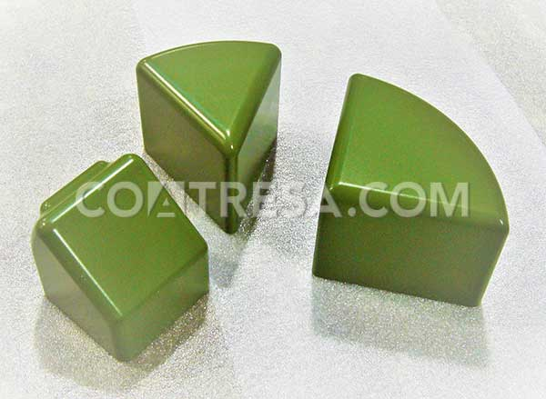 Thermoforming, teflon coated mould
