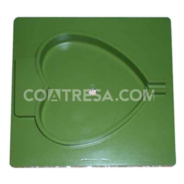 En Coatresa somos expertos en ateflonar, como esta placa de termosellado