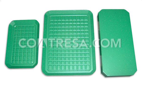 Pintura de teflón para placas de termosellado, sector embalaje