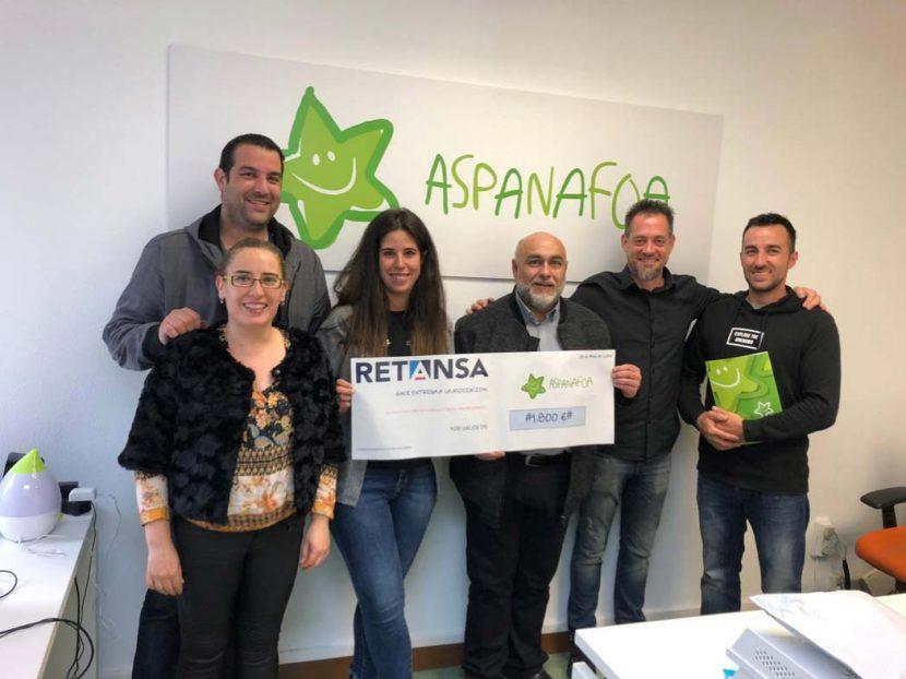 Retansa Coat col·labora amb l'ONG ASPANAFOA