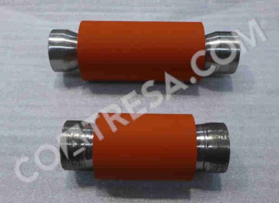 rollers-red-rubber-coating