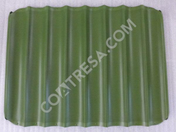 fabricante-bandeja-baguette-teflon-verde