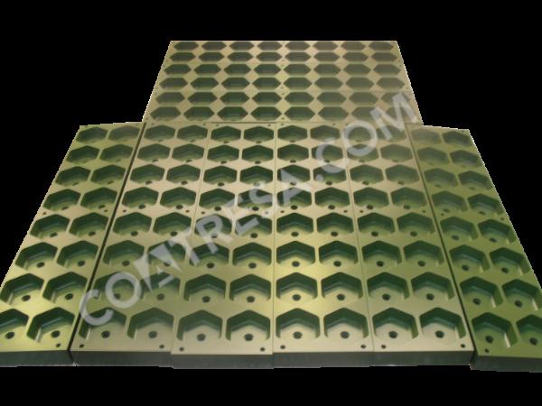 Molde antiadherente tacos de silicona