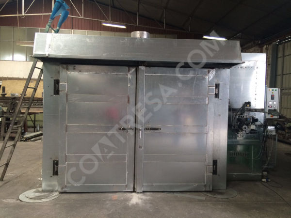 teflon-curing-oven