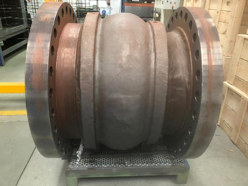 Valve coating for water treatment
