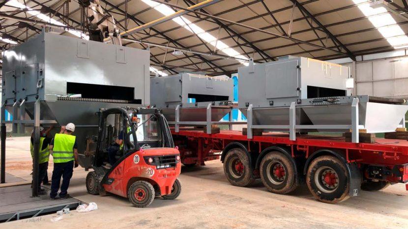 arenadora automática para las nuevas instalaciones de Coatresa